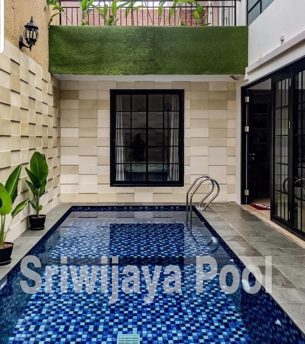 kolam renang yang dibuat oleh team sriwijaya pool