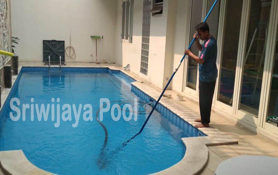 jasa penjernihan dan pembersihan kolam renang oleh sriwijaya pool