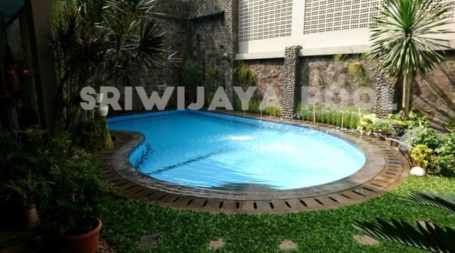 kolam renang di pontianak yang dibuat oleh kami sriwijaya pool