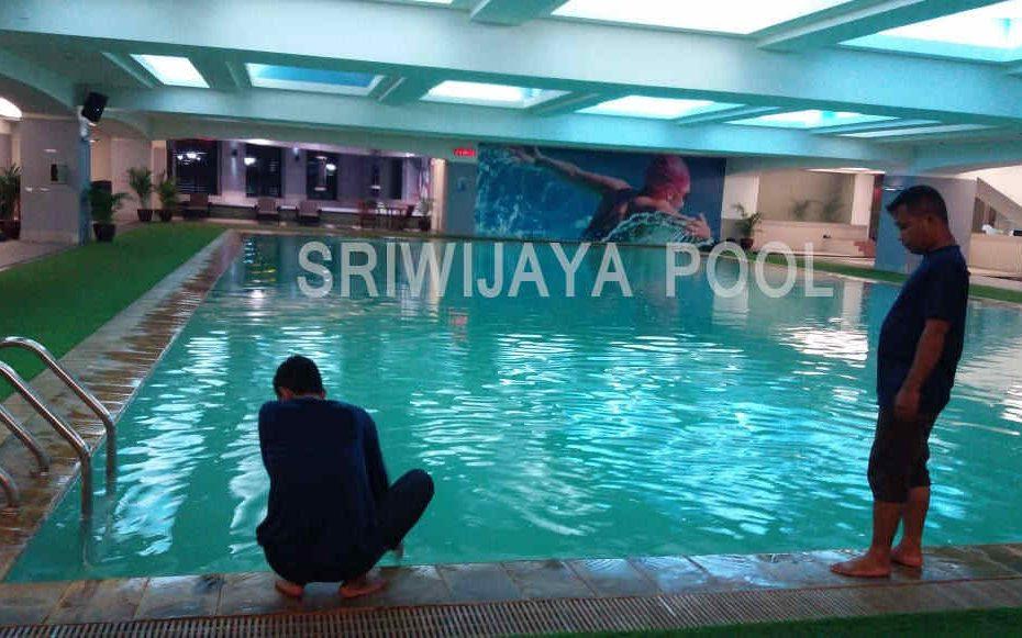 kolam renang yang dirawat oleh sriwijaya pool