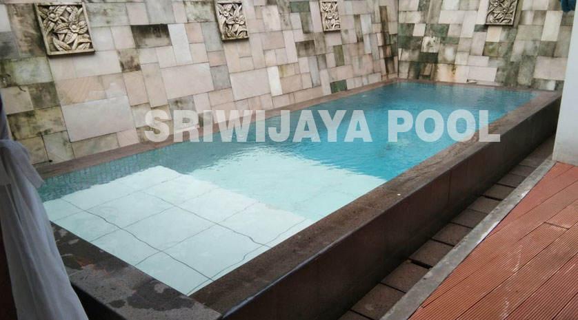 kolam renang yang dibuat oleh sriwijaya pool